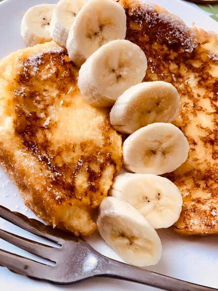 バナナのフレンチトーストのレシピ紹介
