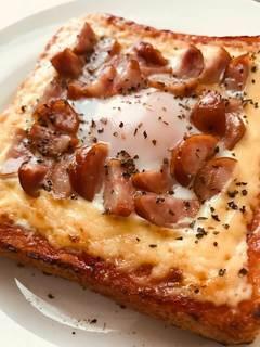 簡単エッグトーストのレシピ紹介