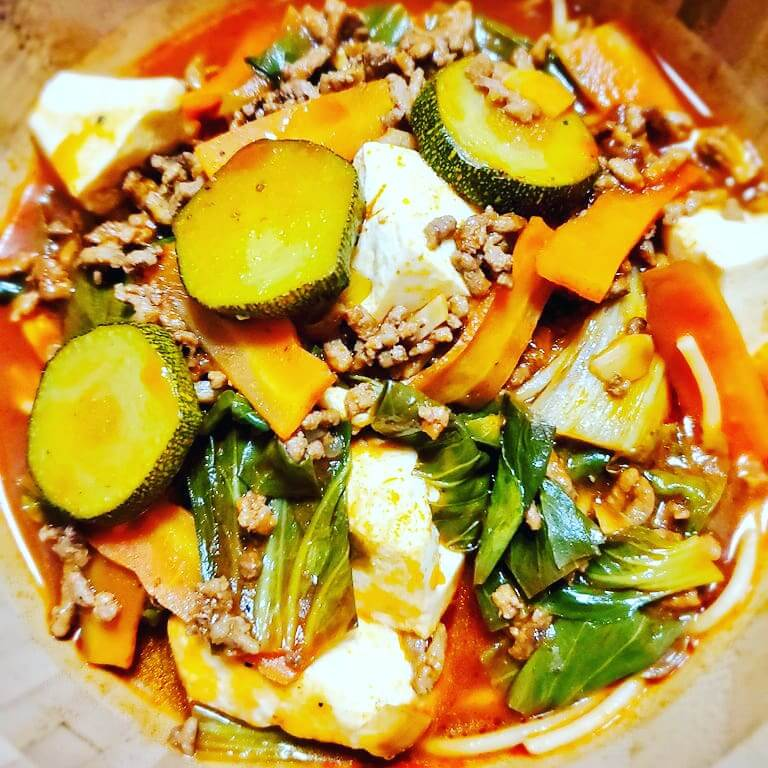 夏野菜ラーメン